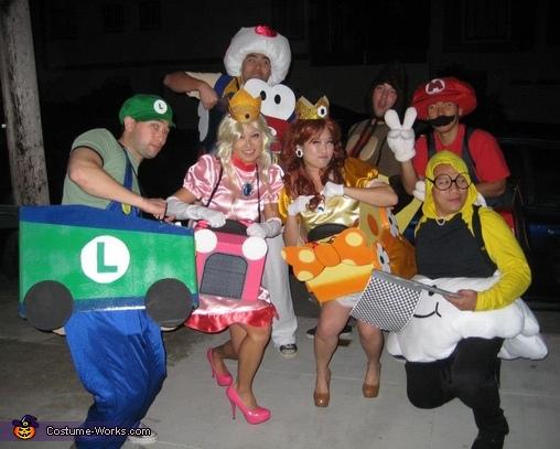 Mario Kart Costumes Diy Costumes Under 35