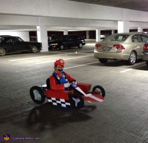 Mario Kart Homemade Costume