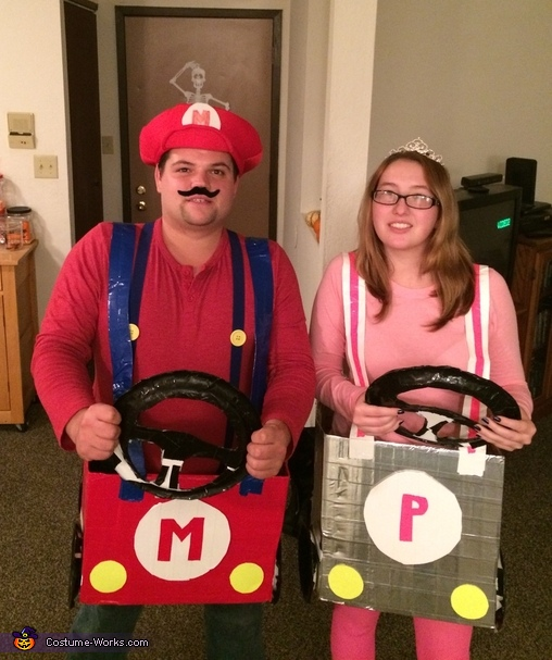 Couple Mario Kart Costume