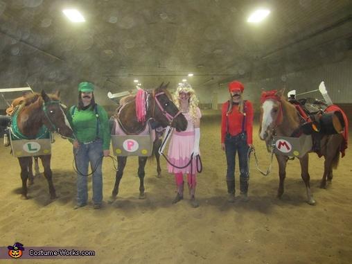 Mario Kart Group Halloween Costumes