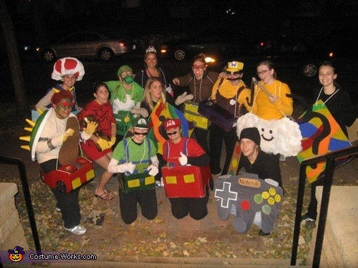 & Mario Kart Group Costume