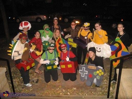 Mario Kart Group Costume Creative Diy Costumes