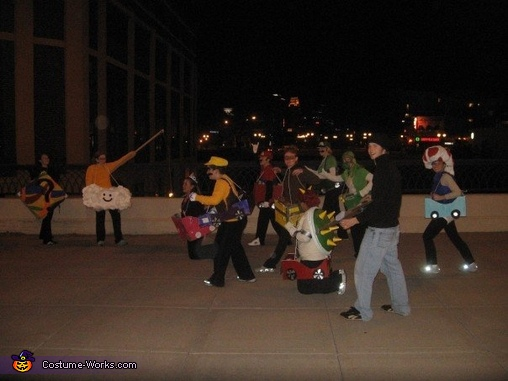 Mario Kart: Group in Action, Mario Kart Group Costume