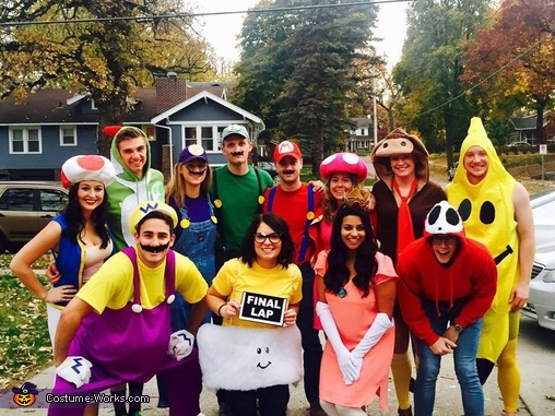 sc 1 st  Costume Works & Mario Kart Group Halloween Costume
