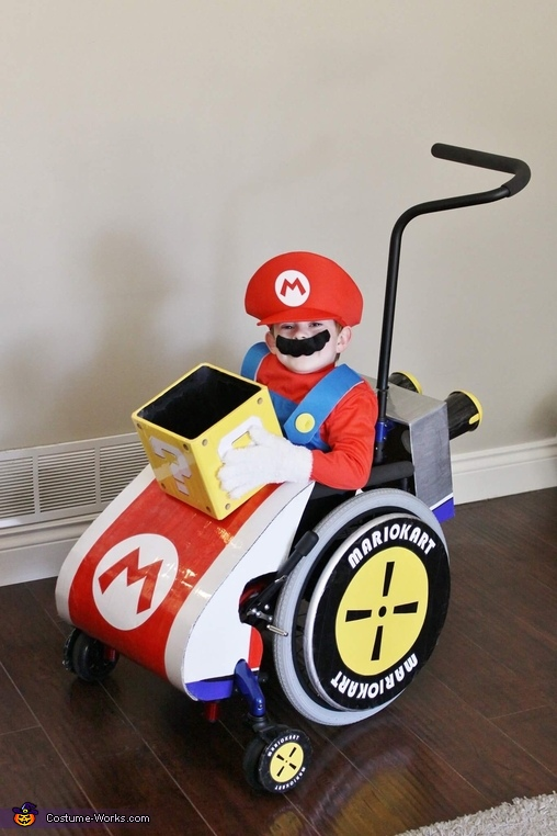 Mario Kart Wheelchair Costume