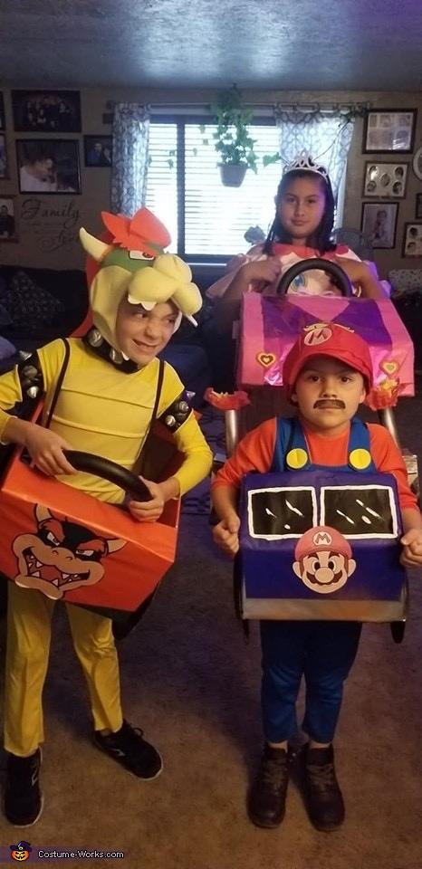 Mario and bowser, Mario Kart Costume