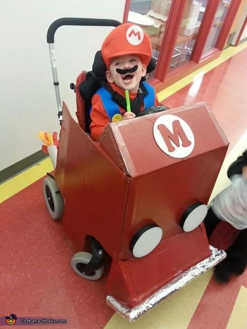 Mario Kart Baby Costume