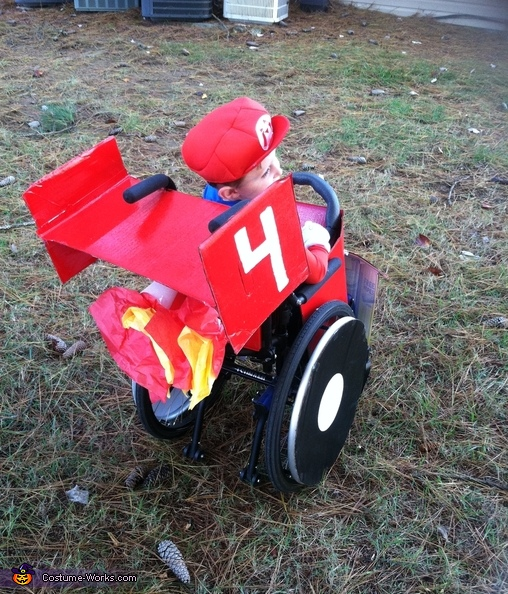 Mario Kart Boys Homemade Costume