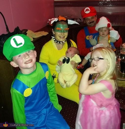 Mario Kart Characters Costume
