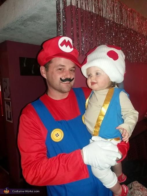 Mario Kart Characters Homemade Costume