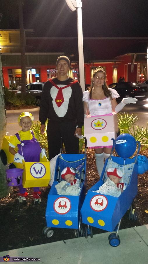 Mario Kart Family Costumes