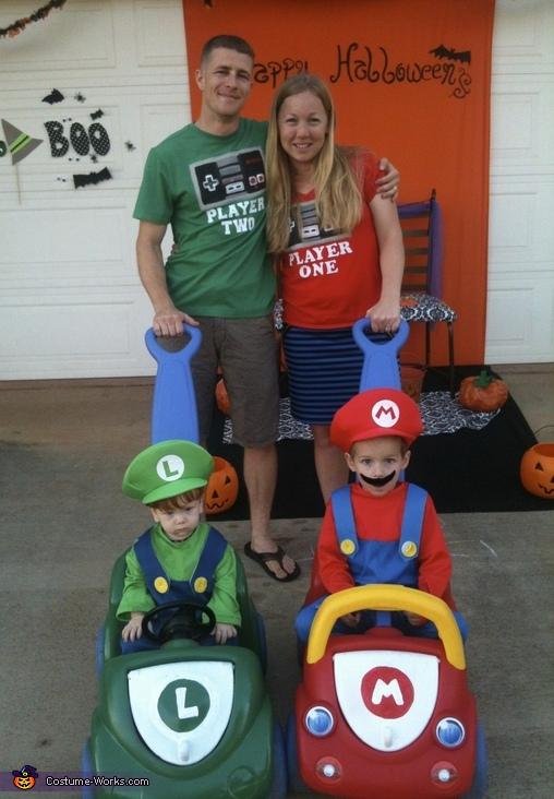Mario Kart Family Costume