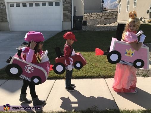 Mario Kart Racers Homemade Costume