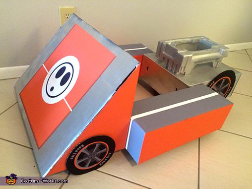 Final Shyguy Kart, Mario Kart Shyguy and Toad Costumes