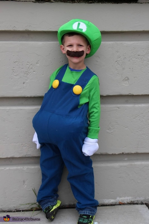 luigi, Mario, Luigi and Princess Peach Costume
