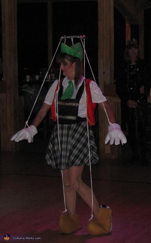 Marionette Costume, Marionette Costume