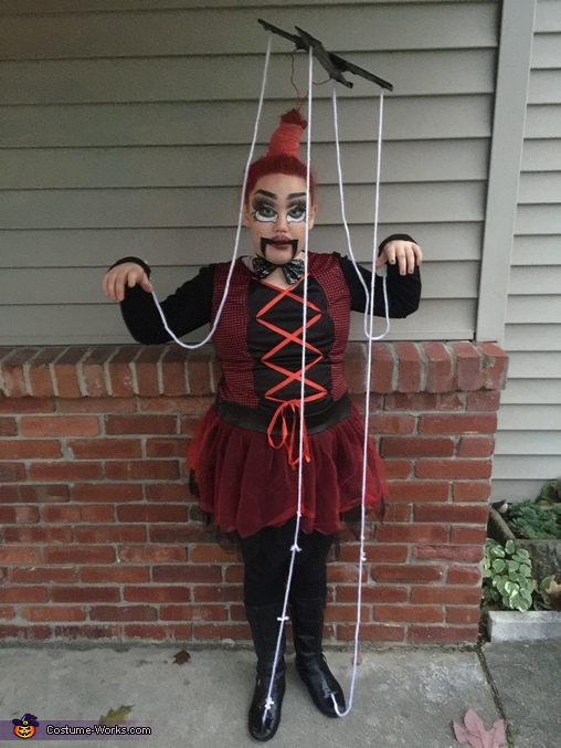 Riley the Marionette Costume