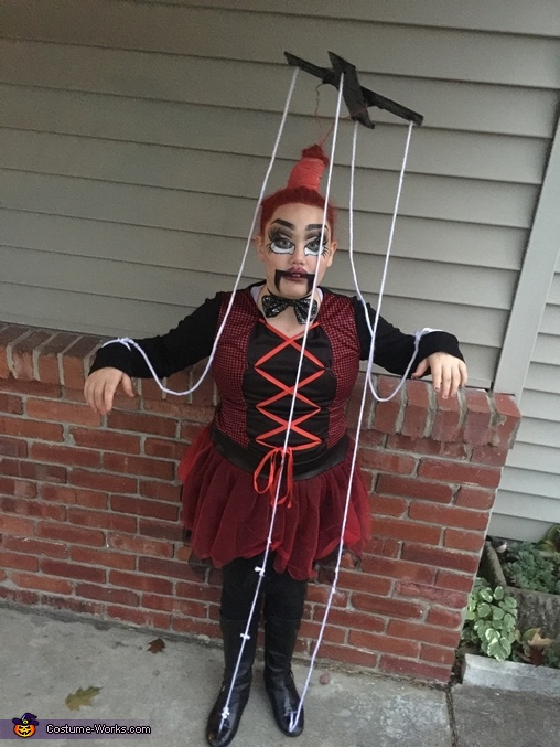 Marionette Homemade Costume
