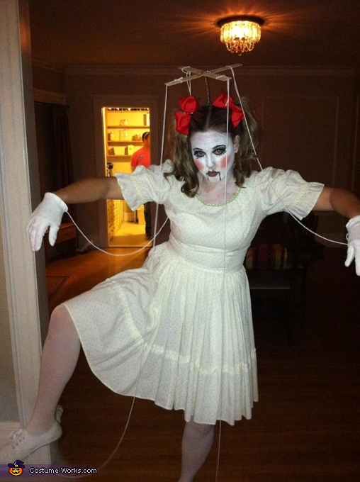 Marionette Doll - Homemade costumes for women