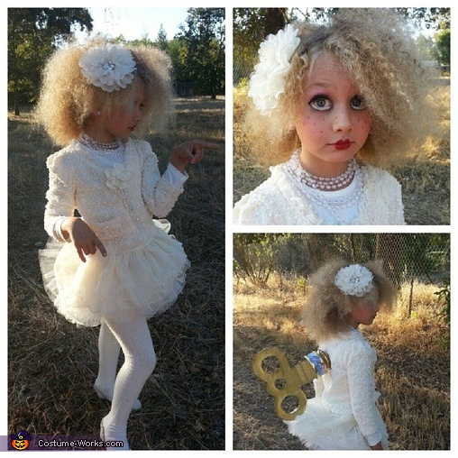 Mash up of photos, Marionette / Wind Up Doll Costumes