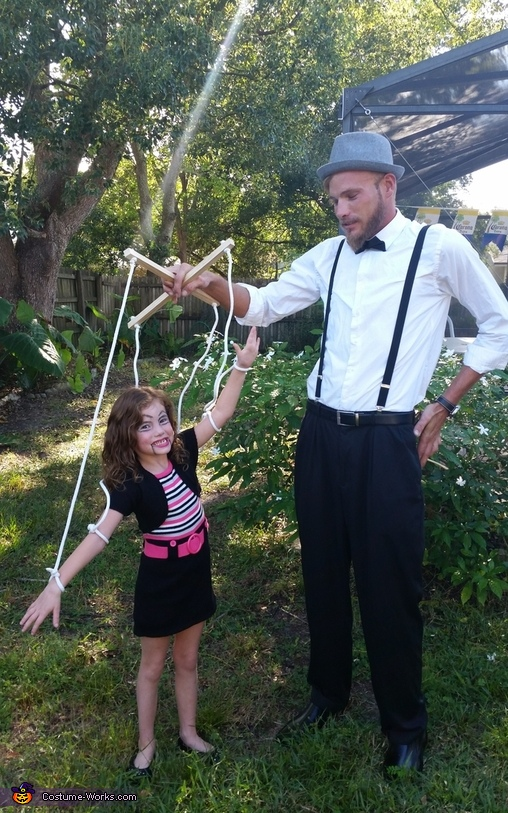 Marionette & Puppeteer Costume