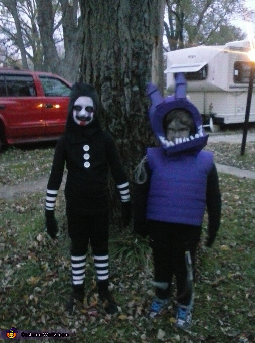 Marionette & Withered Bonnie Costume