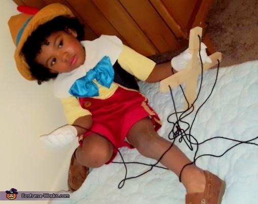 Marionette Puppet Pinocchio Costume