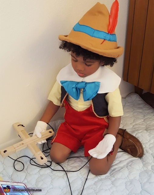 Marionette Puppet Pinocchio Homemade Costume