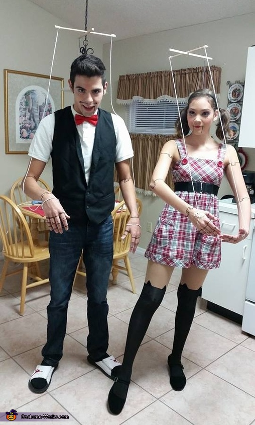 Marionette Puppets Couples Costume