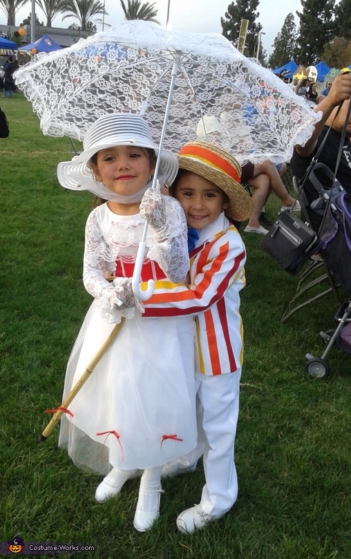 marry poppins, Marry Poppins and Bert Costume