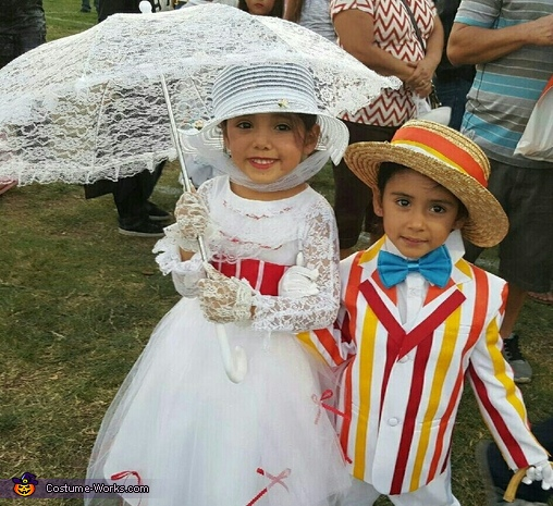 Marry Poppins and Bert Costume