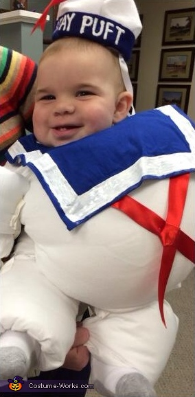 Marshmallow Baby Costume
