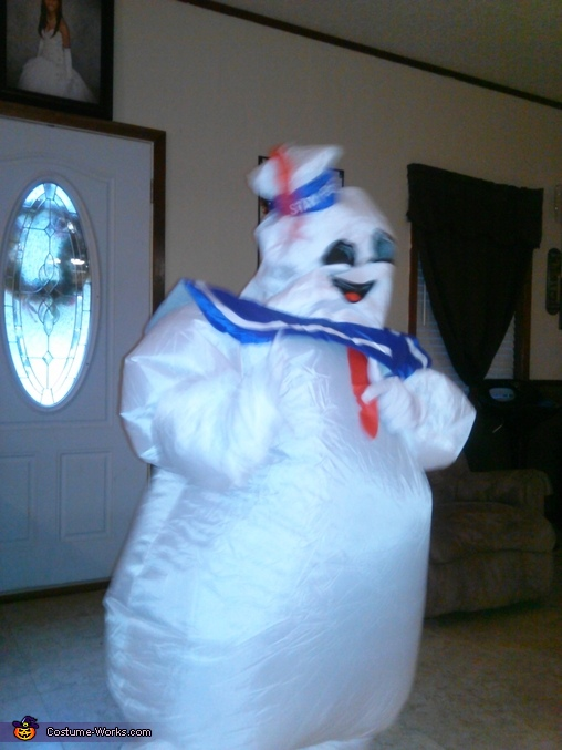 Marshmallow Man Costume