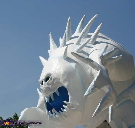 Marshmallow Snow Monster Costume