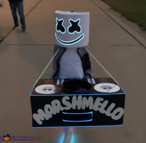 Marshmello Homemade Costume