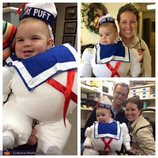 Marshmallow Baby Homemade Costume