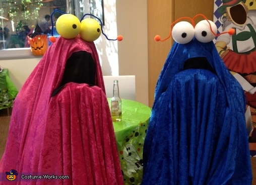 Martians Couple Costume
