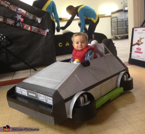 Marty McFly Baby Costume