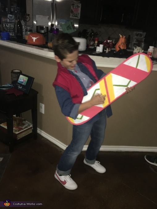 Marty McFly Homemade Costume