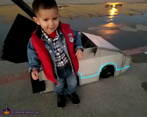 marty mcfly baby boys costume