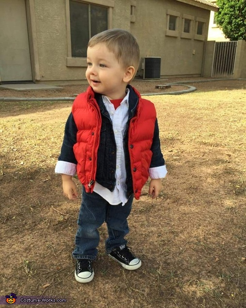 Marty Mcfly, Marty McFly Baby Costume
