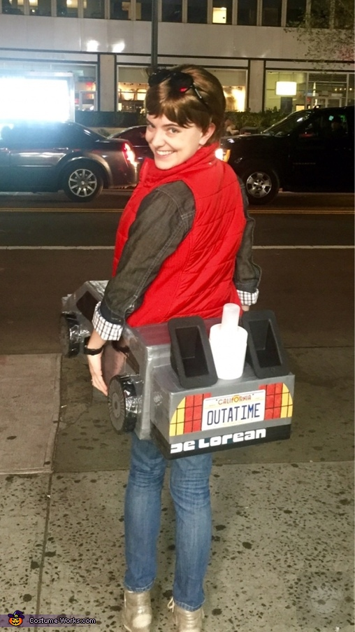 Outta Time, Marty Mcfly with Delorean Costume