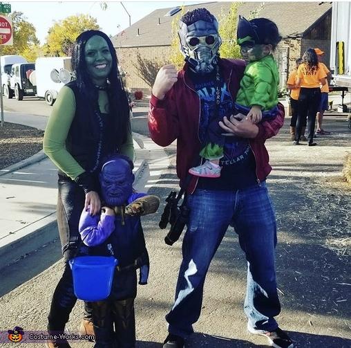 Marvel Family Costume