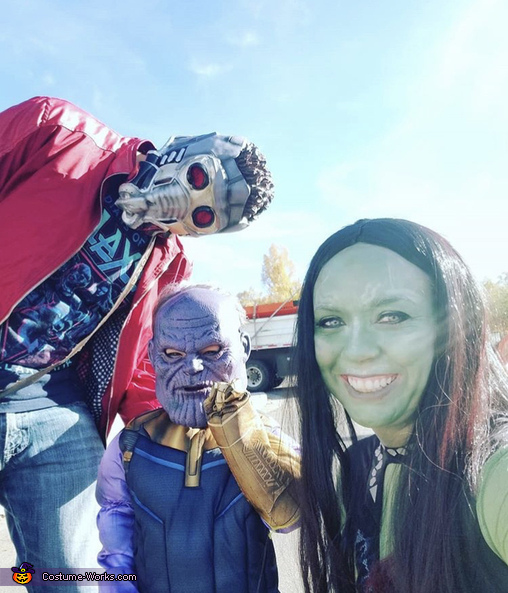 Guardians, Marvel Family Costume