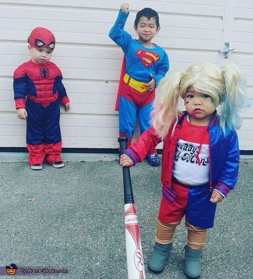 Marvel vs DC Costume