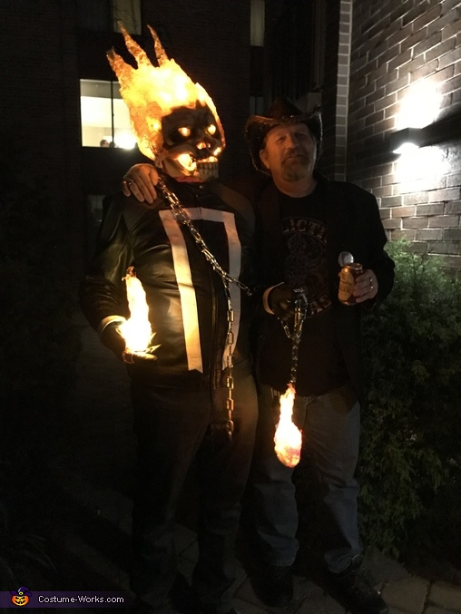 Won  on Saturday  outdid myself, Marvel's Agent of Shield Ghost Rider Costume