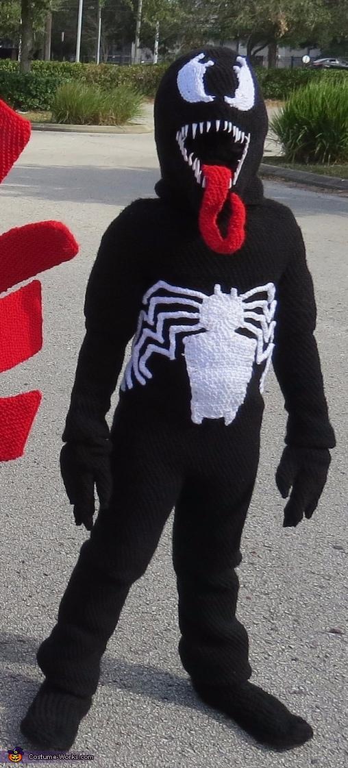 Marvel's Falcon and Venom Homemade Costume