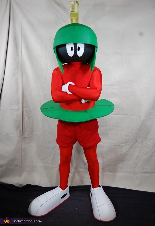 Marvin: Full Costume, Marvin the Martian Costume