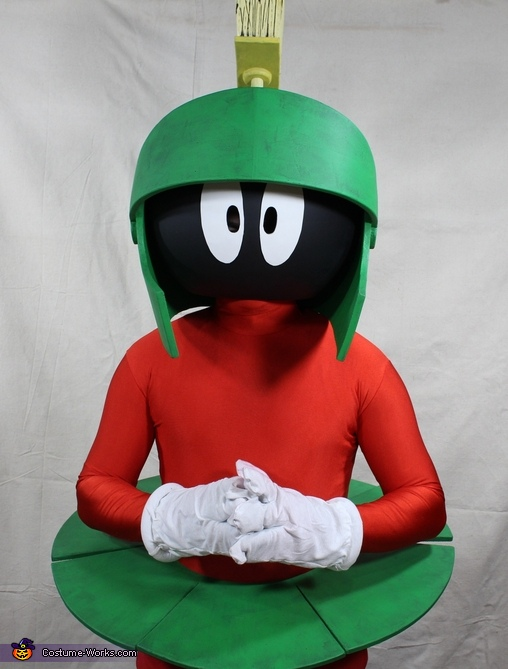 Marvin: Skirt And Up, Marvin the Martian Costume