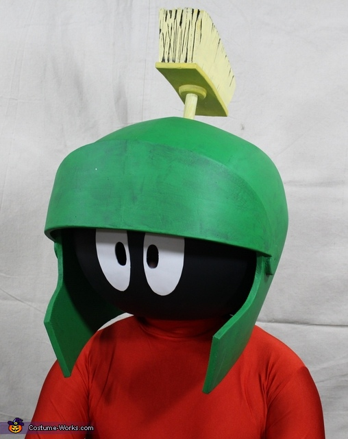 Marvin:Bust, Marvin the Martian Costume